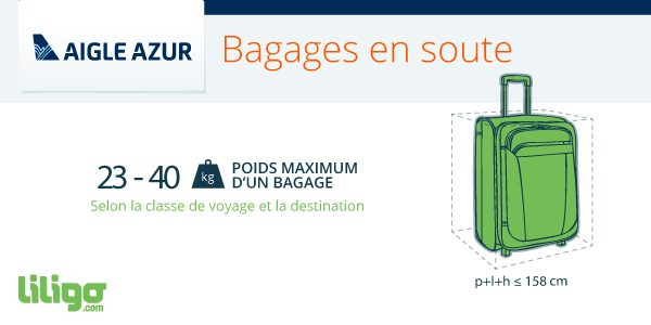 super populaire 99171 8dfb6 Bagages Aigle Azur : prix, poids, dimensions... - Magazine ...