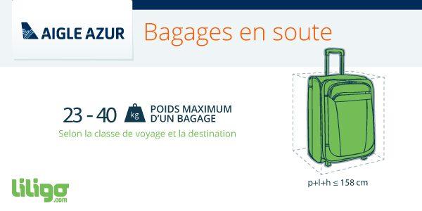 Du Voyageur Aigle Magazine AzurPrixPoidsDimensions Bagages OXZTkiwPu