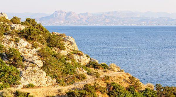 Golfe de Corinthe Grèce