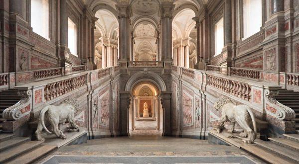 Le-Palais-de-Caserte-Italie