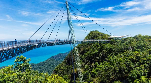 Le Langkawi Sky Bridge, Malaisie