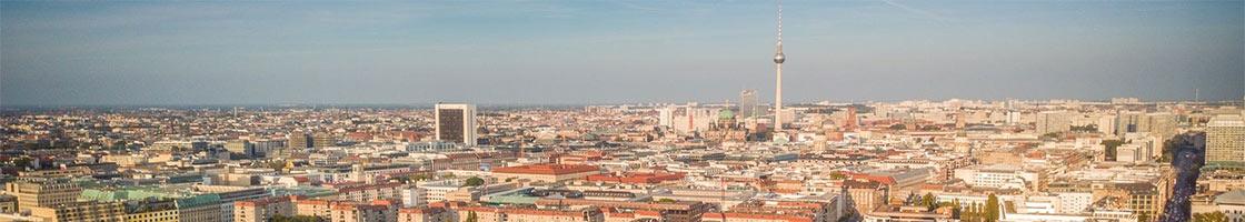 Berlin, capitale de l'Allemagne, pour un Erasmus alternatif dans une ville emblématique