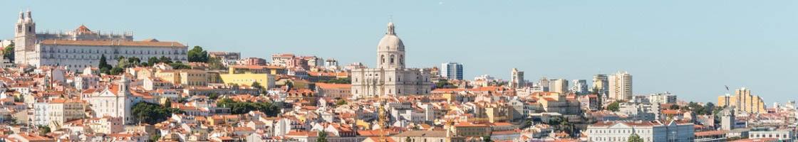 Lisbonne, capitale du Portugal qui acceuille de plus en plus d'étudiants Erasmus