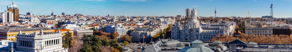 Madrid, capitale de l'Espagne, est l'une des destinations Erasmus les plus sollicitées