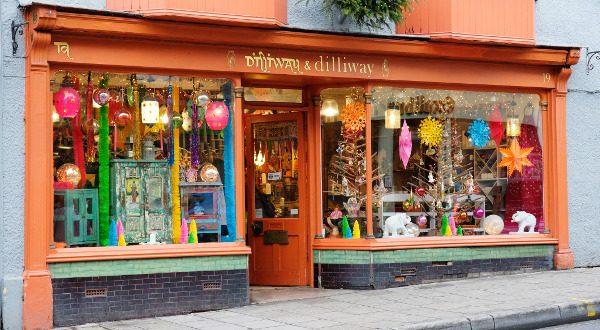 Boutique de magie à Glastonbury