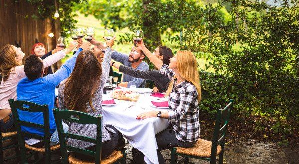Diner en famille