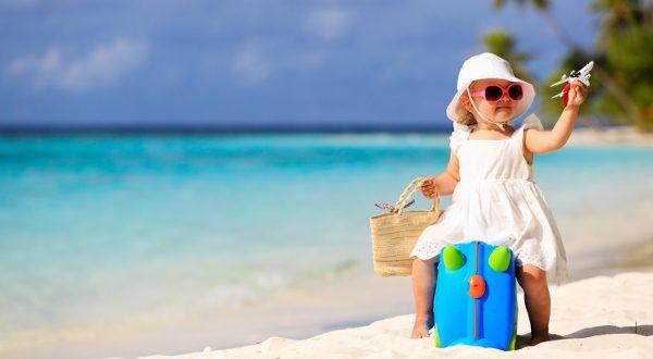 enfant à la mer
