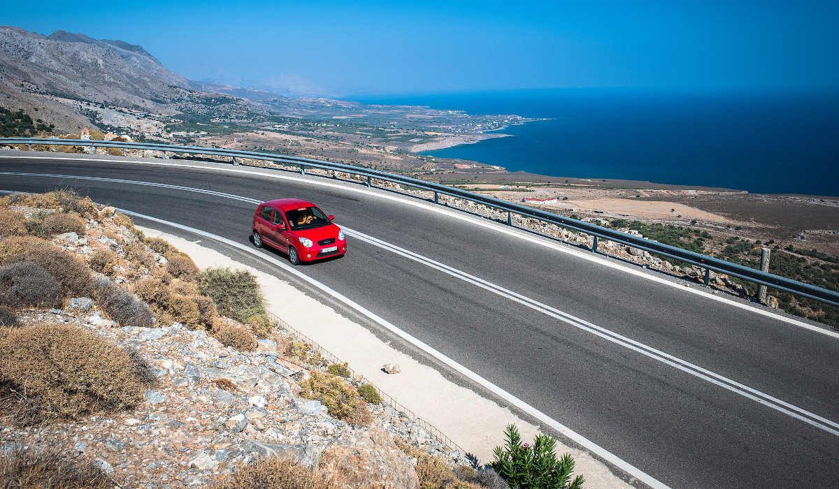 Road trip Crete