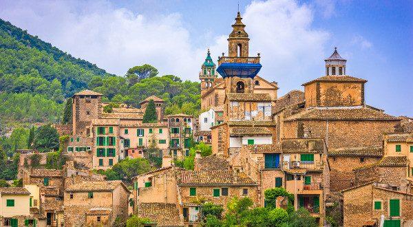 Valldemossa, Mallorca, Spain historic village.