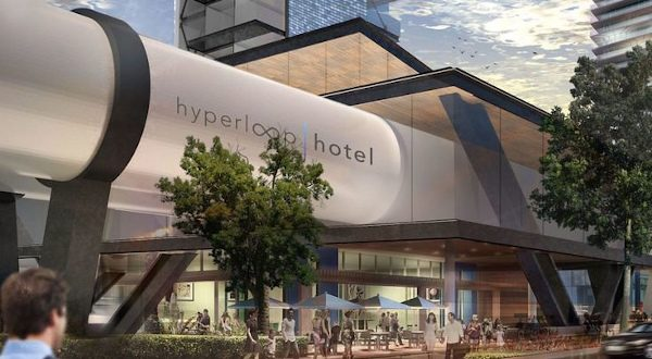 Hyperloop Hotel