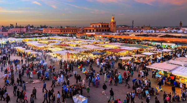 Jemaa-el-Fna Marrakech iStock