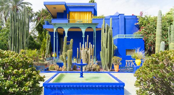 Majorelle Marrakech Shutterstock