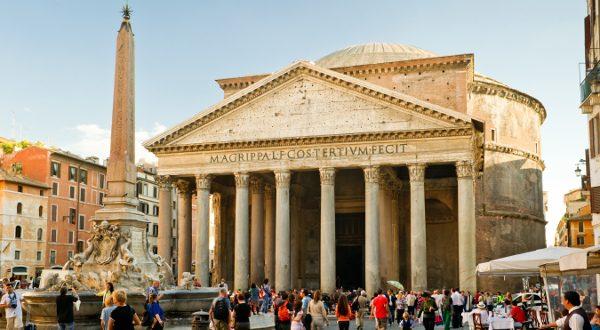 Pantheon_Rome Shutterstock