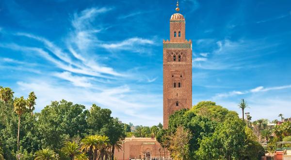 minaret de la Koutoubia Shutterstock