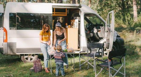Camping Car Famille