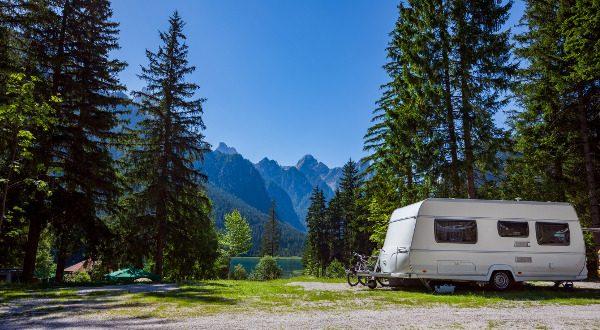 Camping Car Montagne