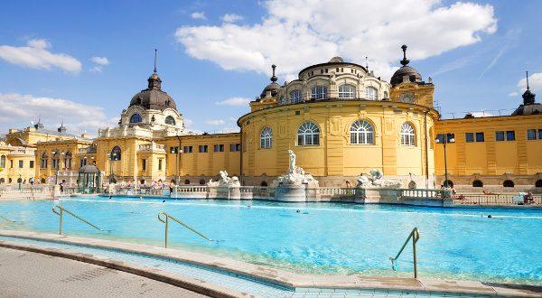 szechnyi bain à Budapest