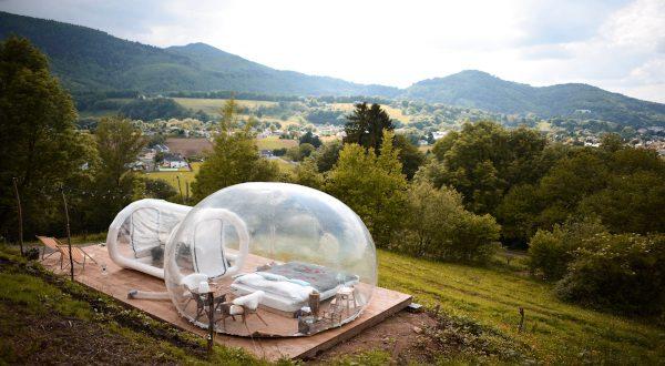 Chambre dans une bulle