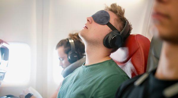 Dormeur avion