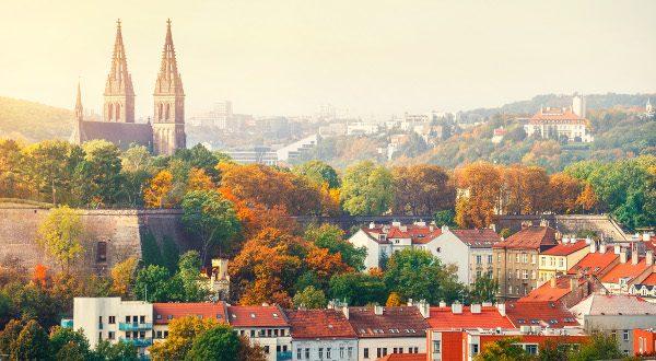 Prague automne