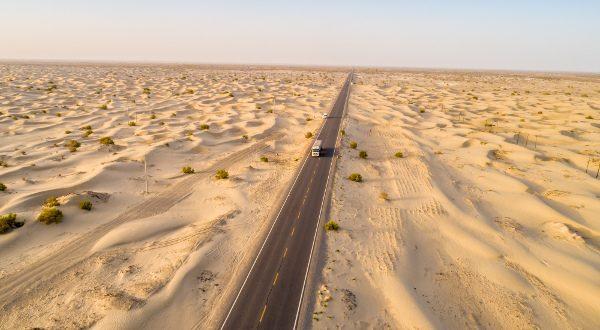 Route du désert du Tarim