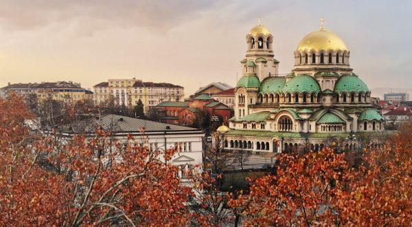 Sofia, en automne