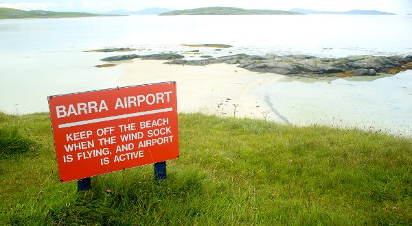 Aéroport île Barra