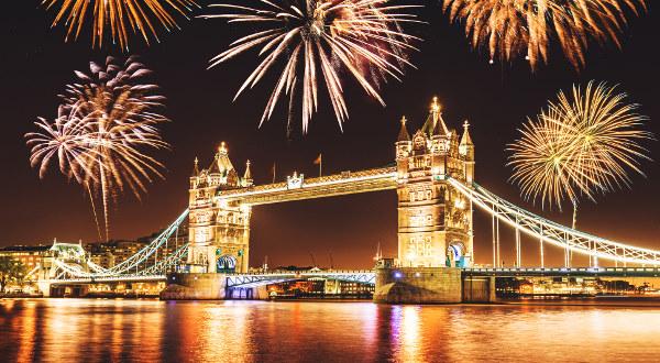 Top 15 des destinations où passer le Nouvel An
