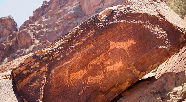 Peintures rupestres de Twyfelfontein