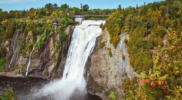 Chutes Montmorency Québec iStock