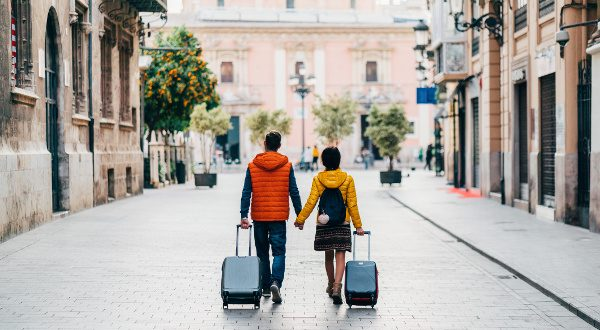 voyageurs valises