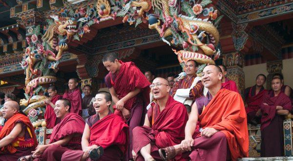 moines bhoutan