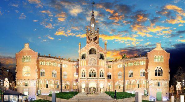 Barcelona - Hospital de la Santa Creu i de Sant Pau