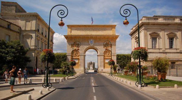 Arc de triomphe Montpellier iStock