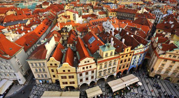 Centre-ville Prague iStock