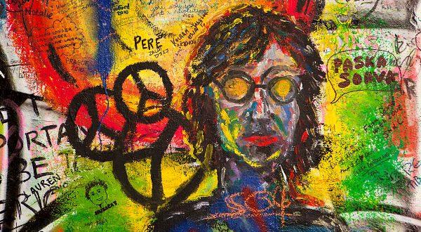 mur John Lennon Prague iStock