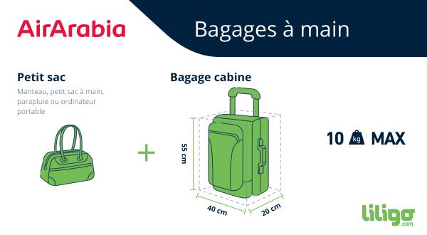 Bagage à main Air Arabia