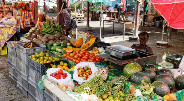 Fort de France marché Martinique iStock 600x330 - 10 tips to reduce your CO2 emissions while traveling