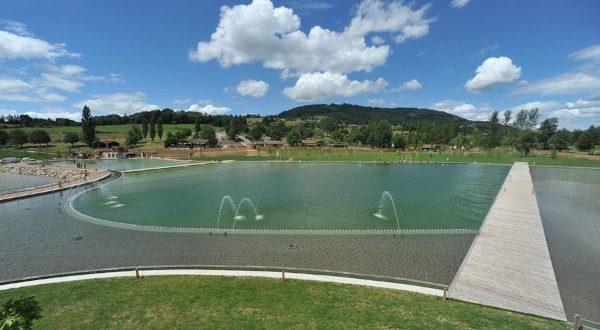 a 100km autour de lyon : lac des sapins
