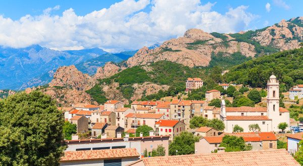 Village de Piana Corse iStock