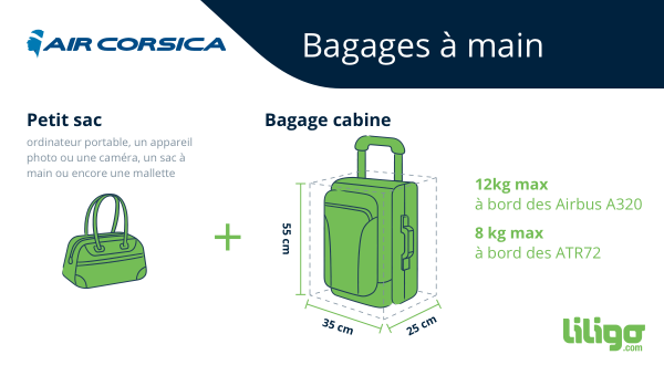 Bagage cabine Air Corsica