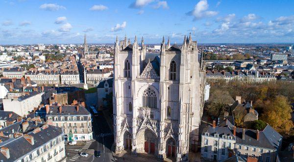 Cathédrale centre-ville Nantes - iStock