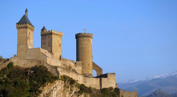visiter le chateau de foix près de Toulouse