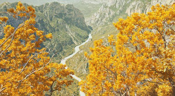 Gorges du Verdon automne iStock