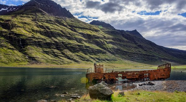Fjord Mjoifjördur iStock