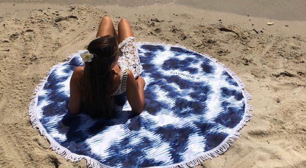 MaVahiné serviette de plage