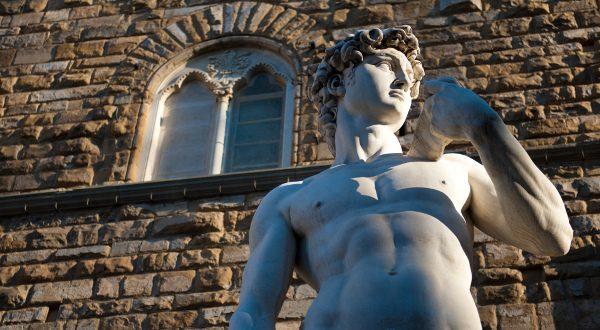 Le David de Michel-Ange Florence Shutterstock