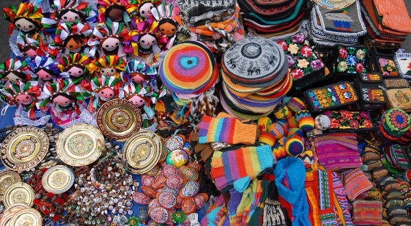 bazar San Angel, Mexico City, Shutterstock