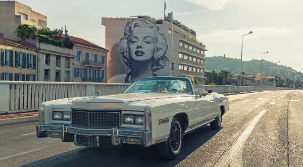 Marilyn Monroe sur le Boulevard d'Alsace Cannes iStock