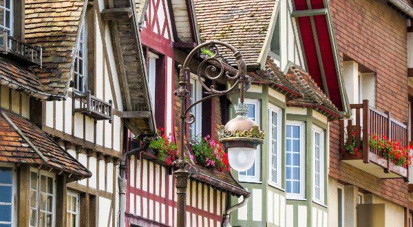Quartier historique Deauville iStock